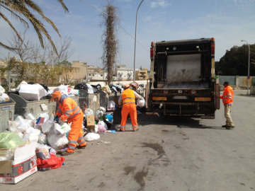 emergenza rifiuti, mazara del vallo