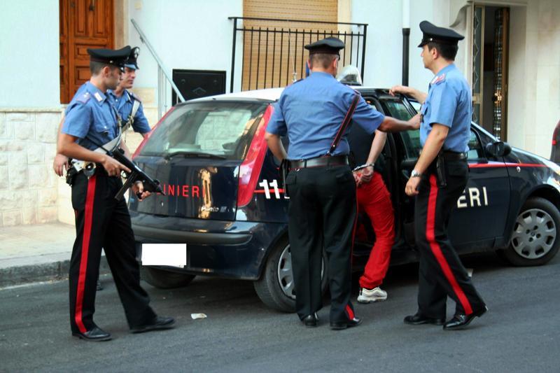 arrestato spacciatore dai carabinieri marsala news