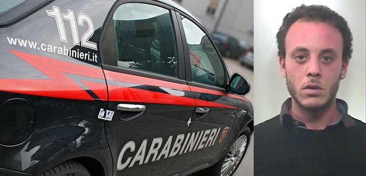 arresto carabinieri marsala complice furto birgi