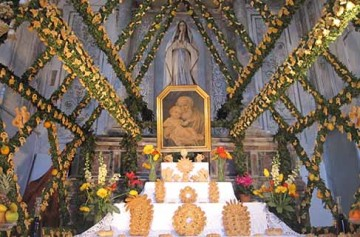 Cene di San Giuseppe a Salemi
