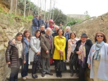 L'Assessore  Purpura a S. Maria della Grotta
