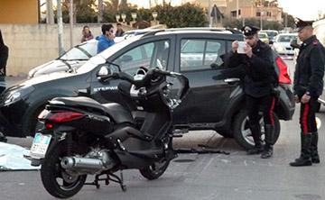inicdente-mortale-paolo-patricola-carabinieri-marsala-scooterone-contro-auto-marsalanews