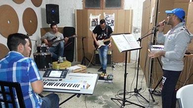 La Voce del Mediterraneo 2015 il gruppo che suona