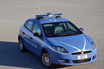 foto volante polizia trapani