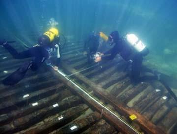 Tac ed Rx digitale sullo scafo della nave romana trovata a Marausa