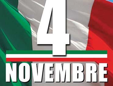 Marsala, 4 Novembre: il programma del Giornata dell'Unità Nazionale e Festa Delle Forze Armate