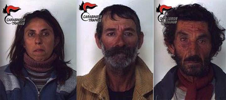 sequestro-armi-carabinieri-trapani-gli arrestati