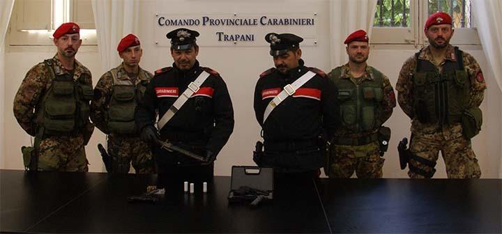 sequestro-armi-carabinieri-trapani