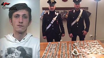 IMPELLIZZERI-Salvatore-classe-1997-alcamo-carabinieri-arresto