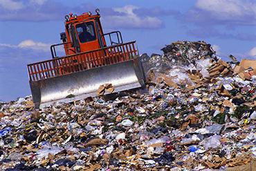 discarica- rifiuti -indifferenziati-rsu