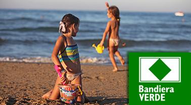 Marsala, la spiaggia del Lido Signorino è stata insignita dalla Bandiera Verde 2016