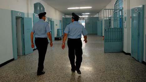 trovato cellulare nel carcere di trapani POLIZIA PENIOTENZIARIA CARCERE SAN GIULIANO TRAPANI