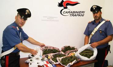 arresto-carabinieri-sequestro-marijuana-nanfo-antonino