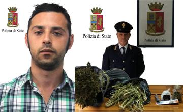arresto-marsala-sostanza-stupefacente-marijuana-sequestrata