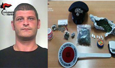 arrestato-carabinieri-campobello-droga-pirrone