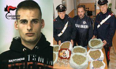 carabinieri-arresto-gulotta-marijuana-sequestrata