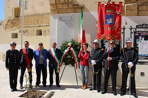 Celebrato a Marsala il 72esimo anniversario della Liberazione