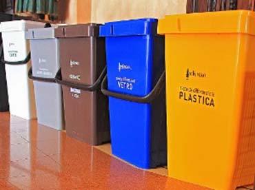 Marsala oltre il 50 dei rifiuti sono differenziati - Contenitori rifiuti differenziati per casa ...