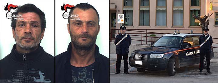 Tentano furto in abitazione, arrestati dai Carabinieri