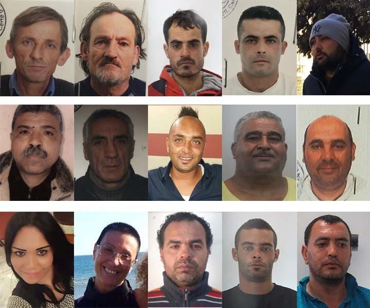 arrestati operazione scorpion fish FAVOREGGIAMENTO DELL'IMMIGRAZIONE CLANDESTINA AL CONTRABBANDO DI SIGARETTE E AL RICICLAGGIO