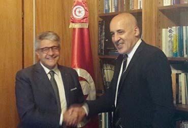 Tumbiolo ricevuto dal nuovo Ambasciatore della Tunisia in Italia. Un'importante delegazione tunisina a Blue Sea Land 2017