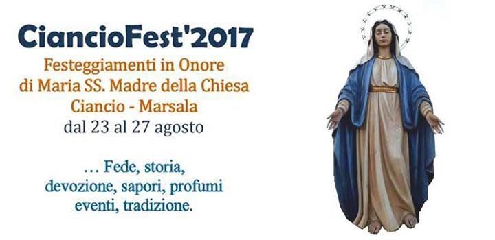 tutto pronto per CiancioFest 2017