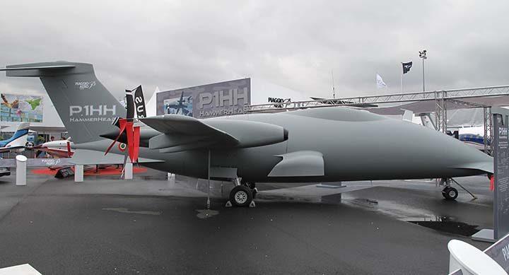 Da Trapani il primo volo cargo del drone Piaggio