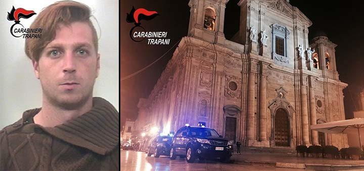Marsala: sfugge dagli arresti domiciliari, arrestato dai carabinieri