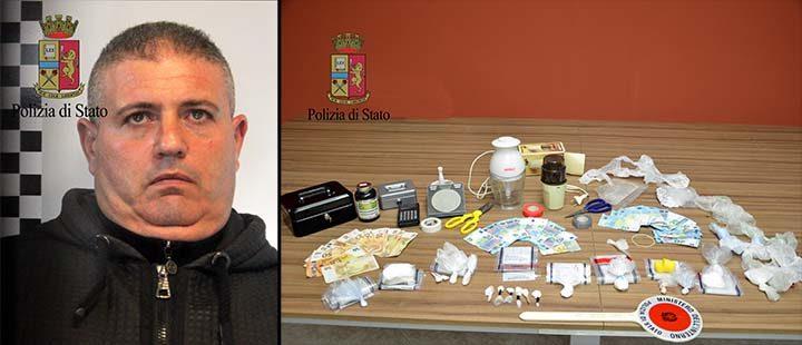 Operazione antidroga, arrestato un mazarese con 130 grammi di coca