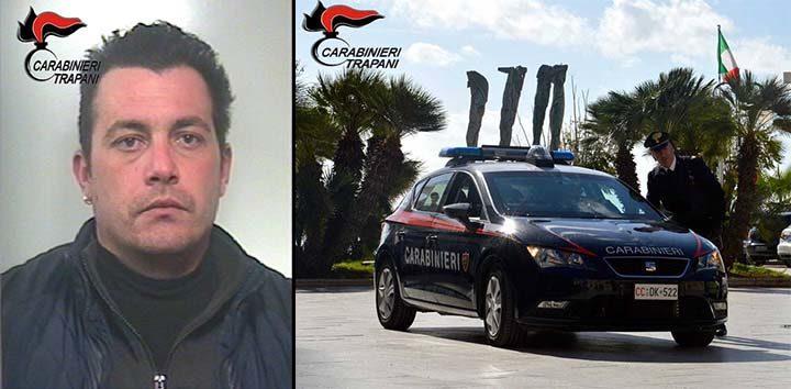 Arrestato dai carabinieri giovane mazarese per spaccio