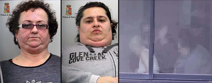 Due badanti arrestate dalla polizia per gravi maltrattamenti a un'anziana
