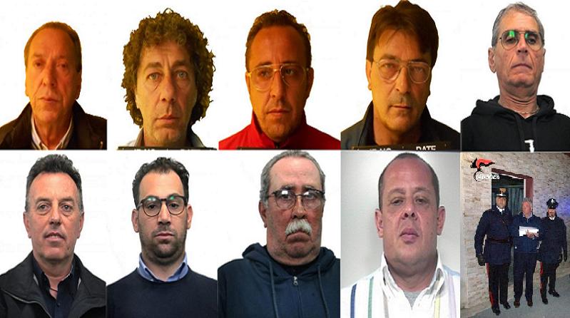 Mafia nomi e particolari sui 22 destinatari dei fermi - Mobili palermo castelvetrano ...