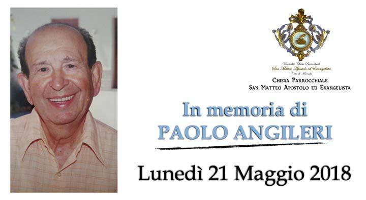 Marsala celebrazione in memoria di Paolo Angileri