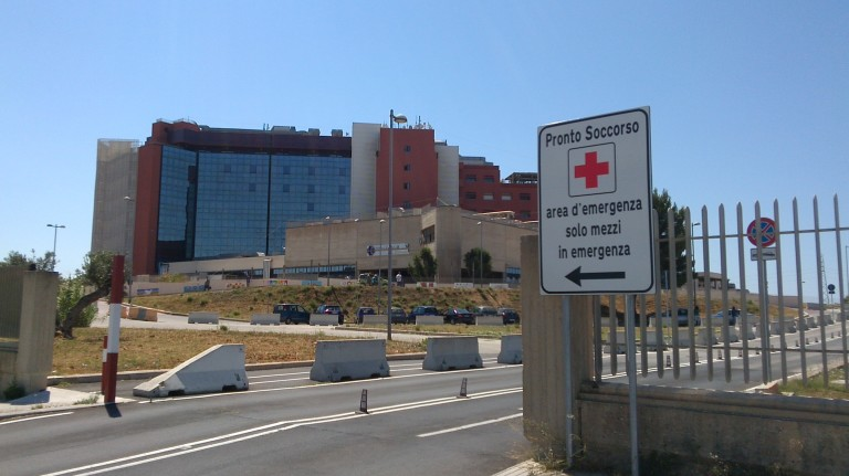 Pronto soccorso ospedale Paolo Borsellino Marsala