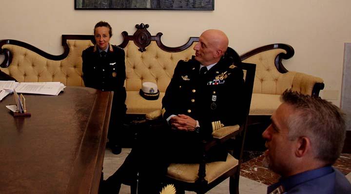 Marsala: tributato un elogio al Col. Salvatore Ferrara, Comandante del 37° Stormo