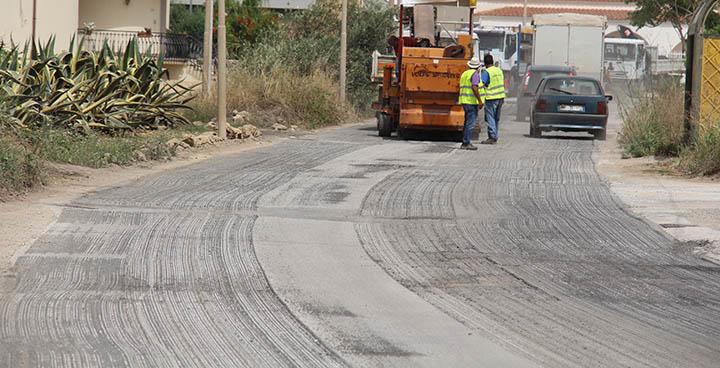 Marsala: al via la sistemazione di strade e marciapiedi