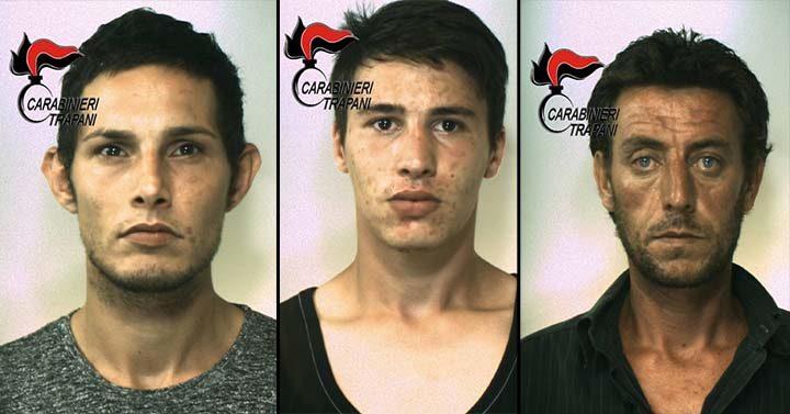 Controllo del territorio a Castelvetrano, tre arresti