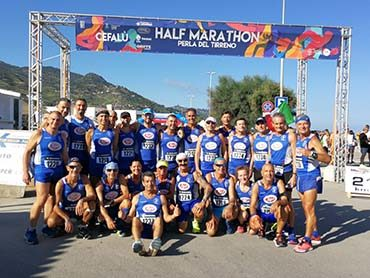 Venticinque atleti della Marsala Doc alla mezzamaratona di Cefalù