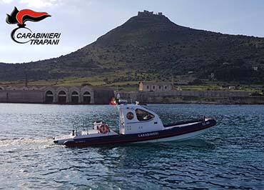 Prende servizio alle Egadi il nuovo battello d'altura dei Carabinieri