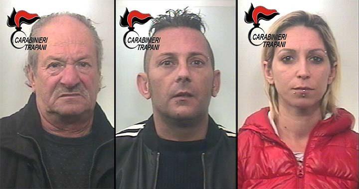 Petrosino: contrasto allo spaccio di stupefacenti, 3 arresti