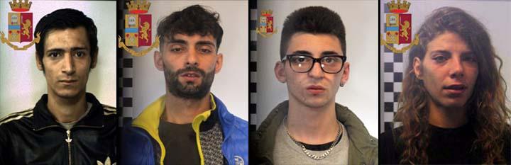 Mazara: arrestati quattro ragazzi per reati vari