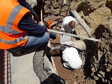 Marsala: riparato il danno alla rete idrica, fra qualche ora riavvio impianti