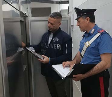 Continuano i controlli straordinari dei Carabinieri nei ristoranti di Mazara
