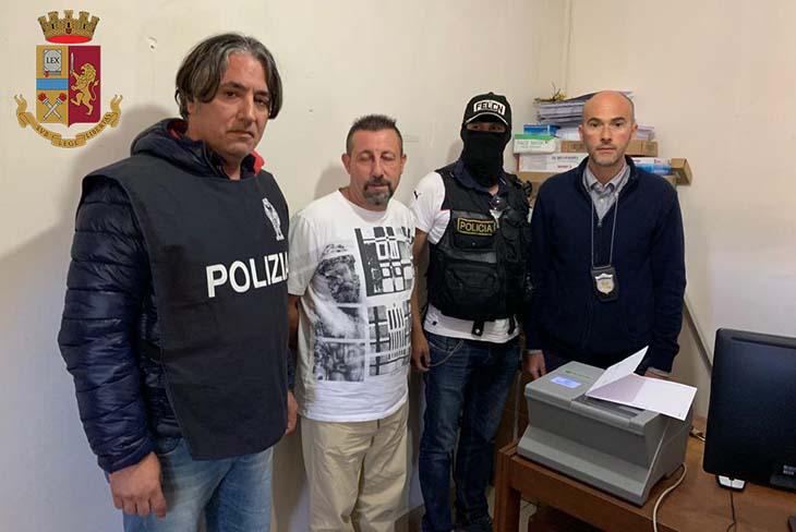 Arrestato dalla Polizia di Stato il narcotrafficante mazarese Paolo Lumia