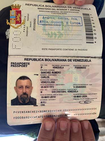 passaporto falso narcotrafficante mazarese Paolo Lumia
