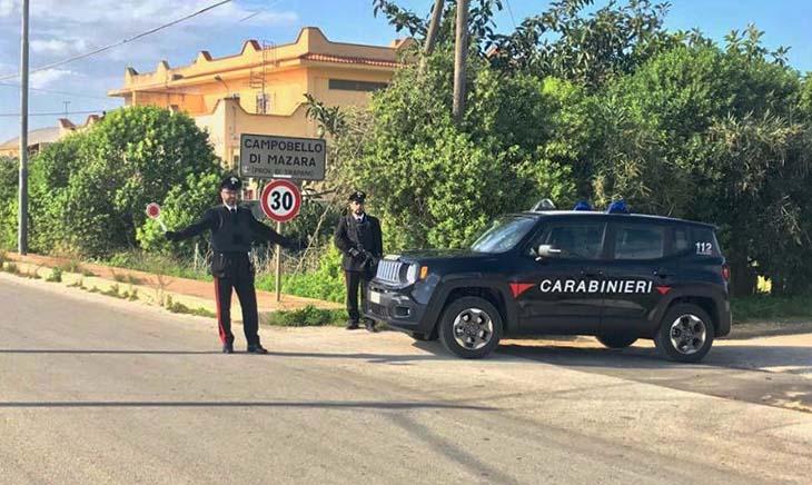 Bloccato un Rave Party abusivo a Campobello, 37 denunciati