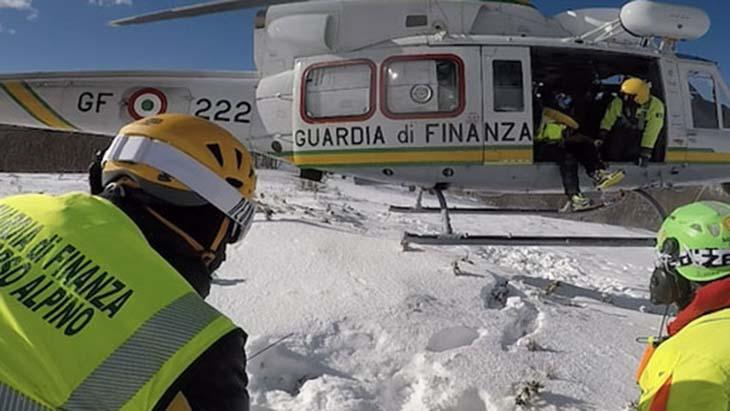 guardia di finanza: aperto il reclutamento di 33 allievi finanzieri soccorso alpino
