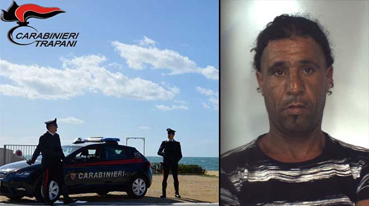 Evade dai domiciliari in motorino: arrestato dai carabinieri a Mazara