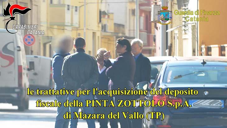Mafia, 23 provvedimenti giudiziari eseguiti tra Mazara e Catania