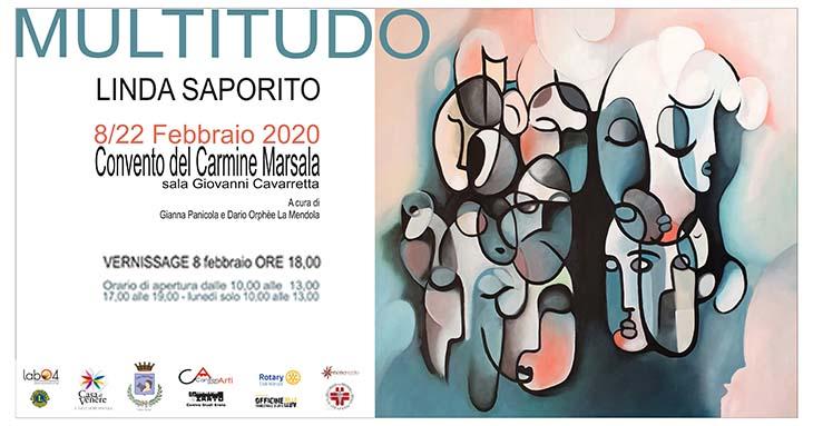 Marsala, Linda Saporito espone al Convento del Carmine